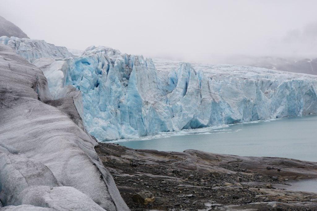 Lodowiec Jostedalsbreen – topniejący błękitny olbrzym